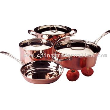 7pc Tri-Ply Cookware Set