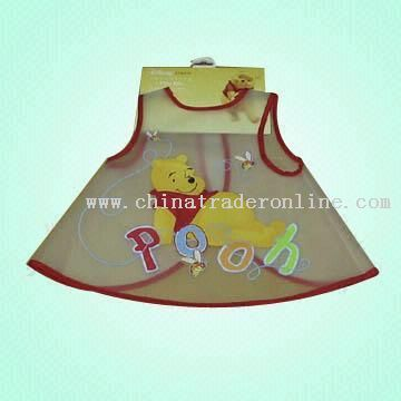 Babys EVA Apron with Back Velcro Closure