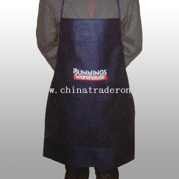 Durable Non-woven Apron in Different Sizes and Colors