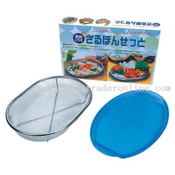 Oval shape Mesh Basket from China