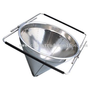 Stainless Steel Flexible Mesh Colander