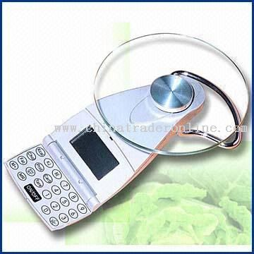 CE-Certificated Digital Kitchen Scale, Analyzes Over 500 Kinds of Foods