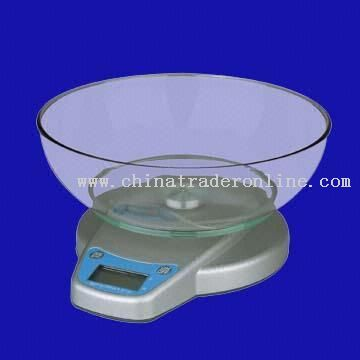 Full-Function Electronic Kitchen Scale