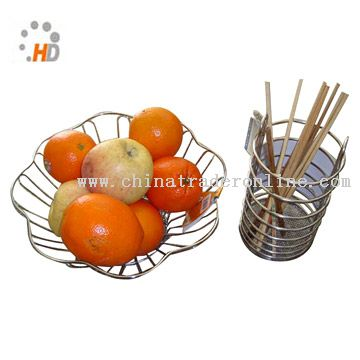 Metal Fruit Container