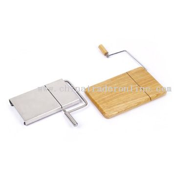 Metal and Wood Cheese Cutters