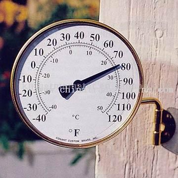 Outdoor Yard Bimetal Thermometer from China