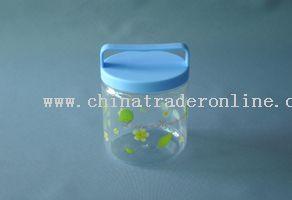 storage pot with handle(520ml)