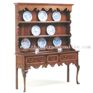 Queen Anne Dresser & Rack