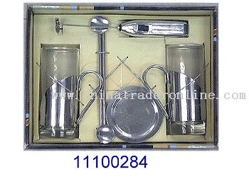 7 PC IRISH COFFEE SET