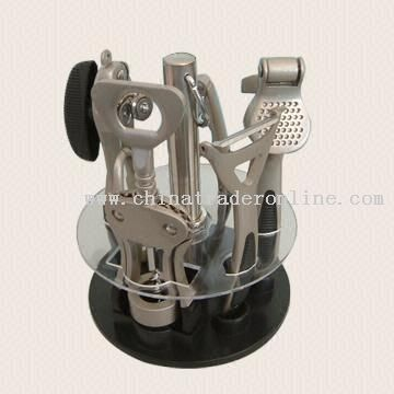 wholesale Six Piece Kitchen Gadget Set Made of Zinc Alloy