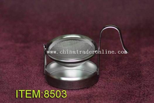 stainless  steel  mesh  tea  strainer