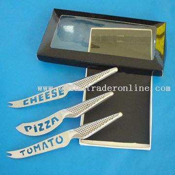3pcs Cheese Knife Set