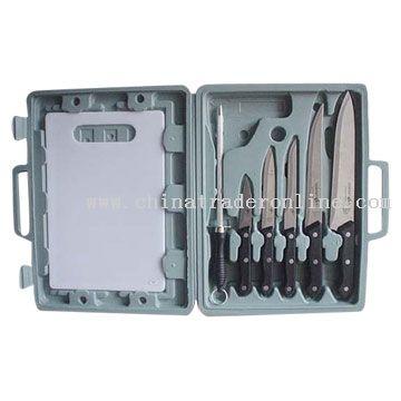7pc Kitchen Knife Set
