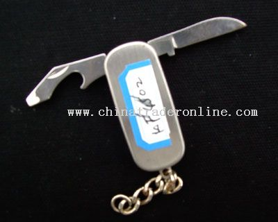 Metal Handle Multi-functional Kinfe from China