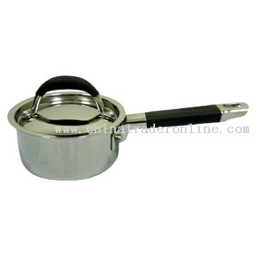 14cm Sauce Pan with Long Bakelite Handle