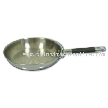 24cm Flat Frying Pan with Oil Resistance