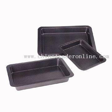 3pc Baking Pan Set