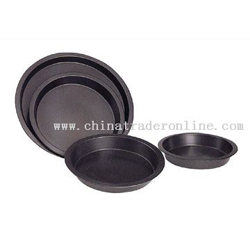 4pc Round Cake Pan Set
