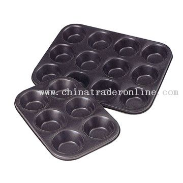 6 & 12 Cup Cake Pans
