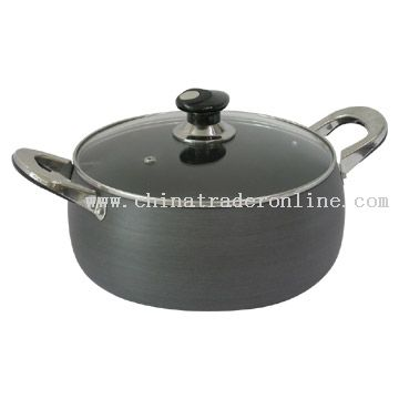 Belly, Hard-Anodized Saucepan
