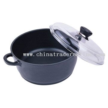 Dutch Oven with Glass Lid from China