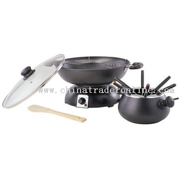 Removable wok with non-stick coating Electric Woks