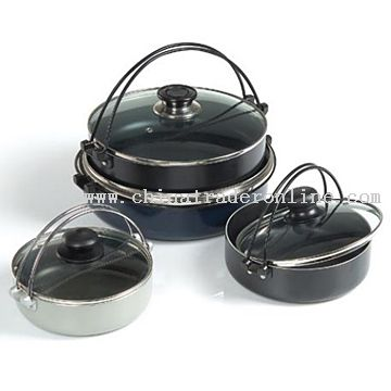 Non-Stick Hot Pots