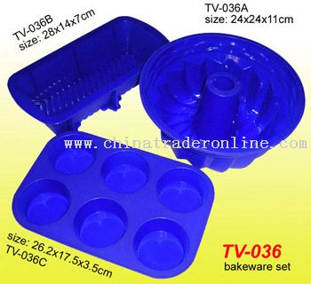 Silicone Bakeware Set, Cake Mould Form