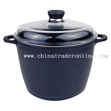 Ultra-High Dutch Oven with Glass Cover from China