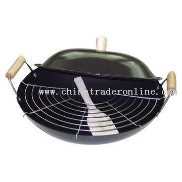 Round Stir Saute Pan