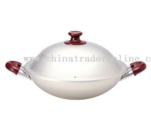 36cm Wok with Two Short Handle