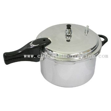 Polished, Straight Pressure Cooker