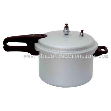 Porcelain-Like Pressure Cooker