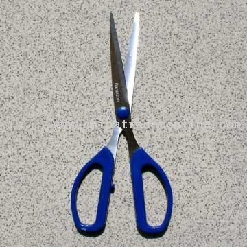 Multi-purpose Stainless Steel Scissors with ABS Handles for Good Holding Sense
