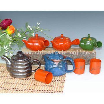 Japanese Style Teapots