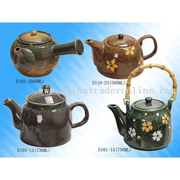 Teapots from China