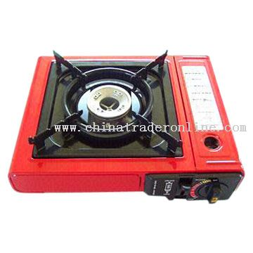 Portable Single Burner Gas Stove with Electronic Ignition