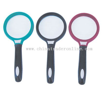 Soft handle magnifier