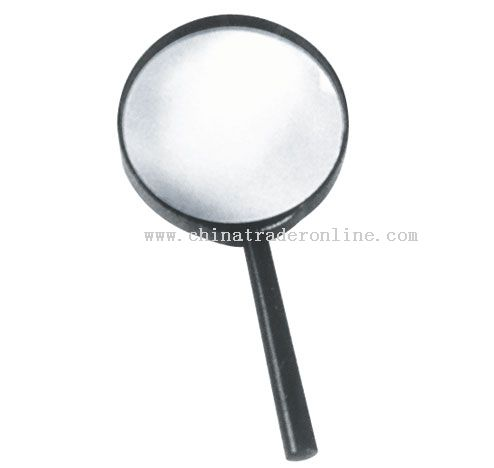 Straight handle magnifier