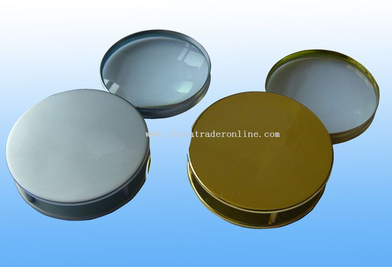 solid metal folding loupe magnifier