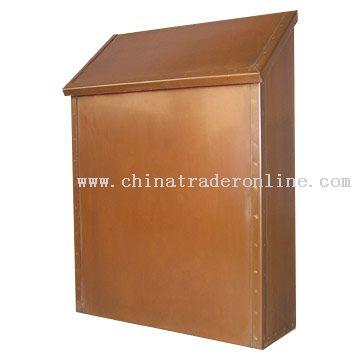 Antique Brass Mailbox