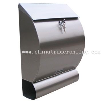 Stainless Steel Mailbox from China