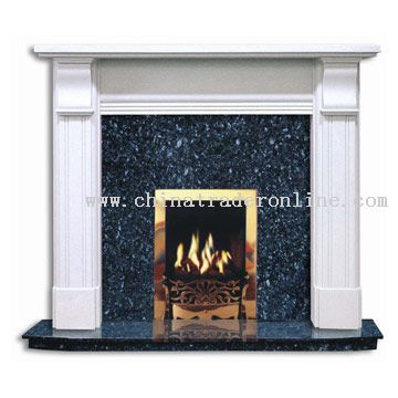 Imitation Stone Fireplace(