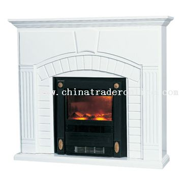Wooden Mantel