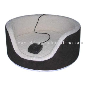Pet Bed with Massager and Heater