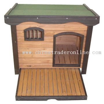 Wooden Pet House & Hutch