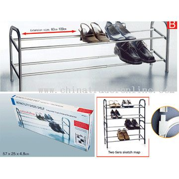 Extension Shoes Shelf