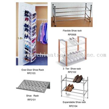 Metal Shoe Rack from China