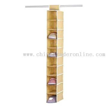 Ten-Shoe Shelves