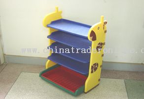 giraffe shoes shelf